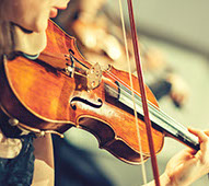 Music lessons for violinists and other stringed instruments